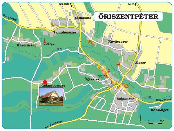 őriszentpéter térkép Családbarát szálláshely az Őrség szívében:Gólyahír Vendégház  őriszentpéter térkép